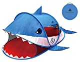 Trendy Pop Up Shark Tent, Indoor Outdoor Large 3-4 Person Sun Shelter,...