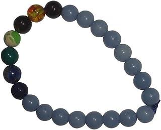 Brahmatells Angelite Bracelet With 7 Chakra