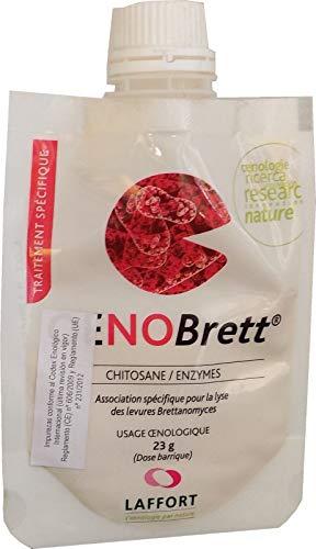 Oenobrett - Eliminador de Brettanomyces para Vinos a Base de Quitosan - Uso Enológico - Envase 23 gr.