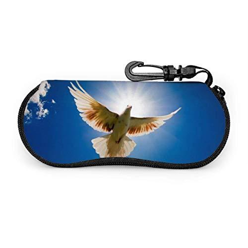 Gafas de sol Bird in The Sky con hebilla de bloqueo Bolsa suave Tela de buceo ultraligera Estuche para gafas con cremallera