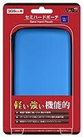 (New3DSLL/3DSLL用)セミハードポーチ(ブルー)