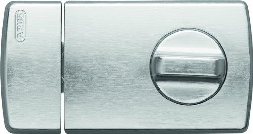 ABUS Tür-Zusatzschloss 2110 mit Drehknauf, silber, 56033