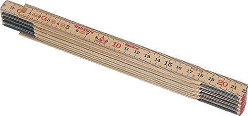 Holzgliedermaßstab Schwedenmeter L.2m Birkenholz Genauigk.III Hultafors