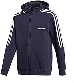 Adidas Contrast Chest Logo Long Sleeves Training Hoodie for Boys
