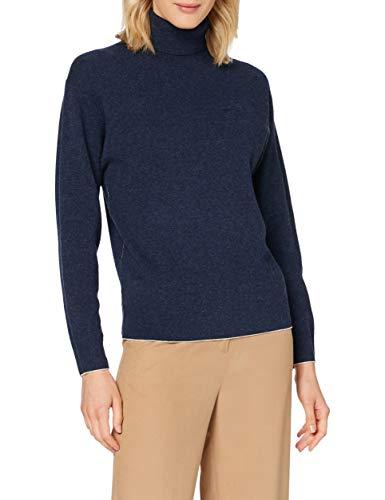 Lacoste AF2386 Suéter, Marine Chine, 40 para Mujer