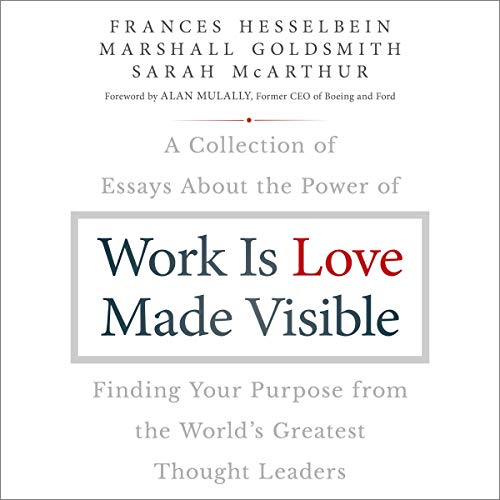 Work Is Love Made Visible audiobook cover art
