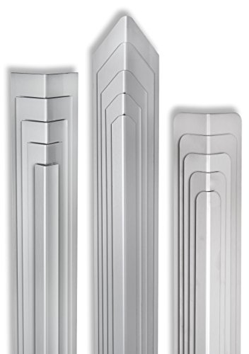 MS Beschläge® Eckschutzwinkel aus Edelstahl Kantenschutz V2A Schenkel 30mm x 30mm Länge 1000mm (Gerundet)