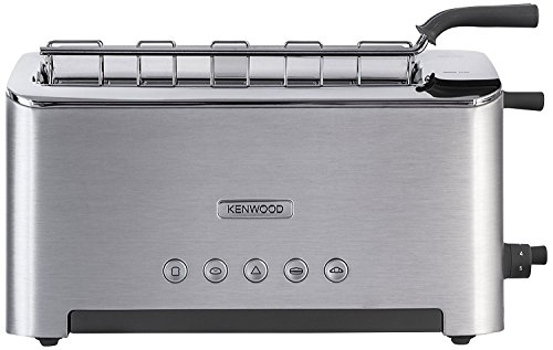 Kenwood TTM610 Persona Collection Toaster with Adjustable Toasting Slot and Sandwich Basket, Silver [並行輸入品]