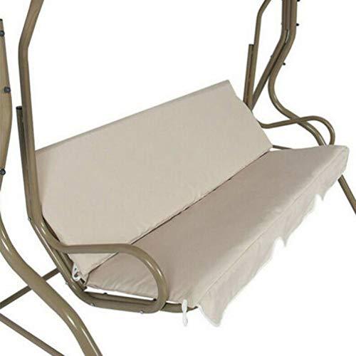CNmuca Cobertura de assento de balanço de pátio de jardim ao ar livre Cobertura de cadeira de balanço de suspensão à prova d'água Cobertura de cadeira de jardim de jardim