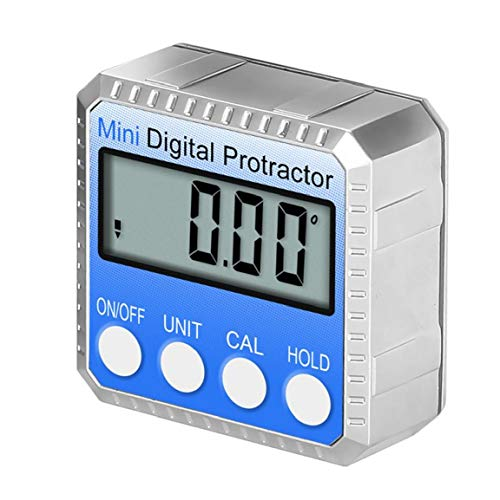 shentaotao Digital-winkelmesser Finder Blau Elektronische Wasserwaage 360 ??° Bevel Mitre Neigungssensor Messwerkzeug Mit LCD-Bevel-Box-Test-Reparatur