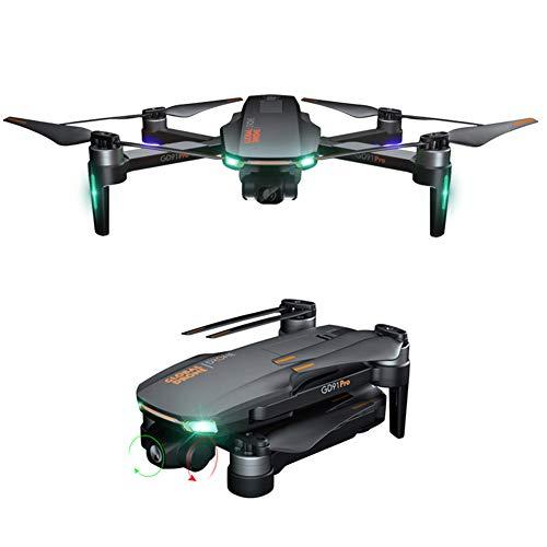 HUAXM GPS FPV Drones Les Pliables, caméra 4K utilise 4 Axes Cardan 4KM, Appareil Photo, Suivez-Moi, 5G à Longue Distance la télécommande, pour Les débutants