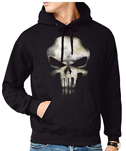 The Fan Tee Sudadera de Hombre Punisher Castigador Comic 001 3XL