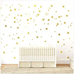 dorm room wall decor star stickers