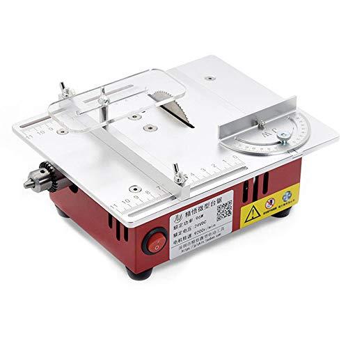 Walmeck T30 Mini sierra de mesa multifuncional Sierras eléctricas de escritorio Herramienta...