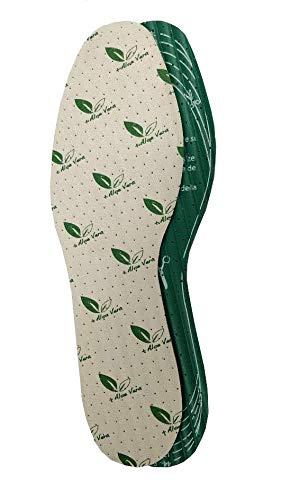 Plantillas para pies VEGANAS con el certificado vegano. Cómoda y con Aloe Vera para mimar tus pies.