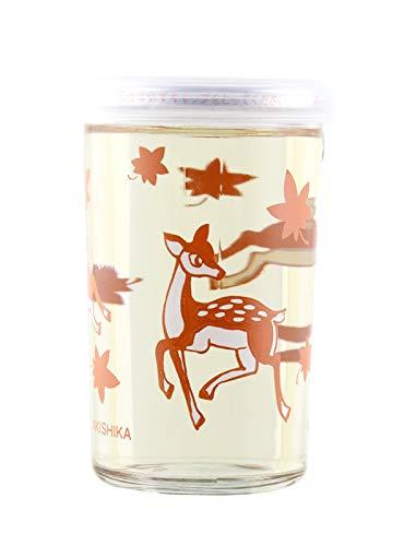 バンビカップワンカップ秋鹿酒造若鹿酒造180ml×2本