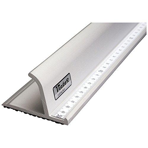 Victor Bar Schneidelineal aus Aluminium Profi-Ausführung rutschsicher 104cm - verschiedene Größen