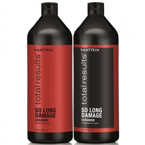MATRIX Kit Total Results So Long Damage Shampoo 1000ml + Balsamo 1000ml
