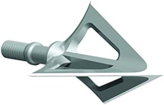 G5 Outdoors Montec 100% Steel Premium Crossbow Fixed Broadheads. Simple to Use, High Performance Broadhead. (3 Pack) (Made in The USA)