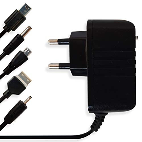 Aditya   AD-5in1   Multi Pin Mobile Charger Compatible with All keypad Mobile Phone