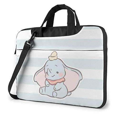 15.6 Inch Laptop Shoulder Bag Cute Dumbo Laptop Briefcase Shoulder Messenger Bag Case Sleeve LAPT-141