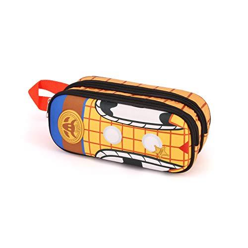 Karactermania Toy Story Woody-3D Doppelfedermäppchen Estuches 22 Centimeters Multicolor (Multicolour)