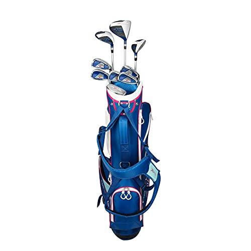 Merchants of Golf Tour X Rezults Womens 12pc Golf Set, Blue/Pink (81600)