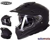 Casco Viper RX-V288 Dual Sport Enduro con doble visera