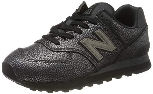 New Balance Damen 574v2 Sneaker, Schwarz (Black Soh), 36 EU