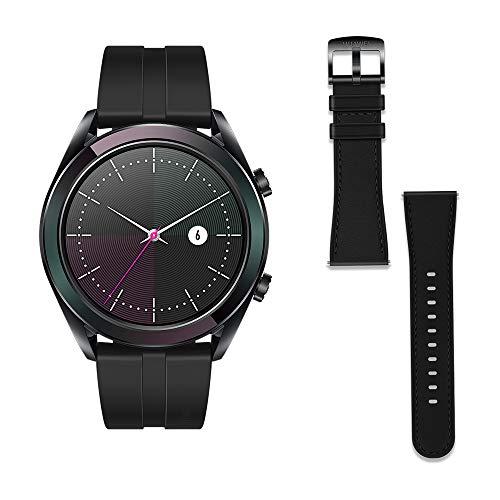 Huawei Watch GT Elegant - Reloj Inteligente, Negro, 42 mm, Reloj+Correa