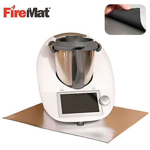 FireMat AHV Edition 30x30cm - Die Brandschutz- und Sicherheitsunterlage, geeignet für Kaffeemaschinen und Elektrogeräte… TÜV SÜD Bescheinigt nach DIN EN ISO 11925-2
