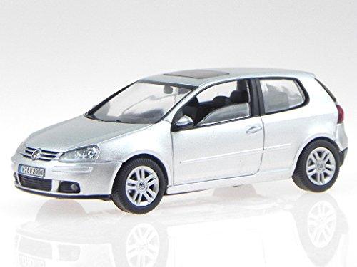 VW Golf 5 2-Türer silber Modellauto Schuco 1:43