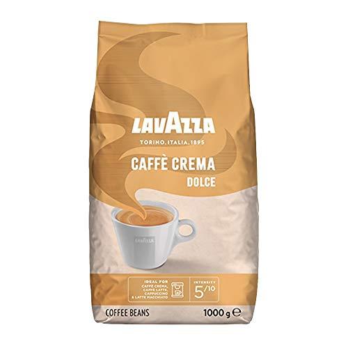 Lavazza Kaffee Caffè Crema Dolce, ganze Bohnen, Bohnenkaffee (2 x 1kg Packung)