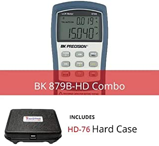 BK 879B-HD Deluxe Universal LCR Meter with Multipurpose Hard Case