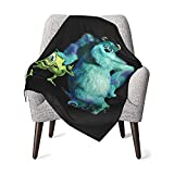 MAIMATIEKE Colorful Monsters, Inc Baby Blanket Fun Flannel Throw Blankets Bedding for Toddler Boys Girls Blanket 30x40 in