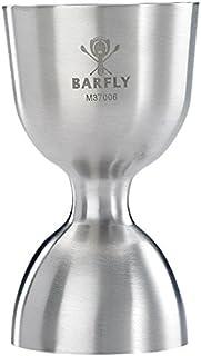 Barfly Heavy-Duty Straight Rim Bell Jigger, 1 oz x 2 oz, Stainless Steel