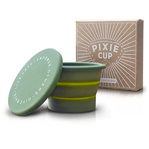 Pixie Copa de silicona plegable para...