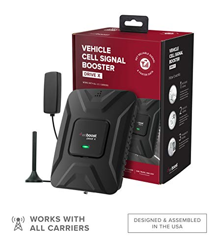 weBoost Drive X (475021) Vehicle Cell Phone Signal Booster | Car, Truck, Van, or SUV | U.S. Company...