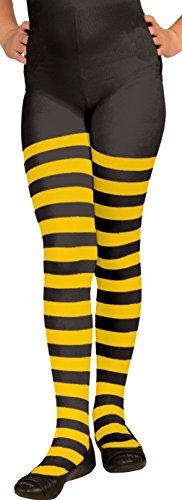 FORUM Damen Strumpfhose gelb/schwarz M