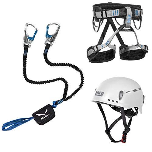 Klettersteigset Salewa Premium Attac + LACD Gurt Start + Helm LACD Protector 2.0 (L)