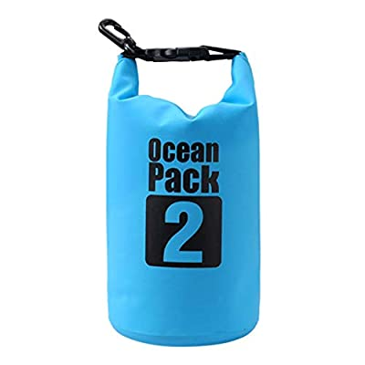 Amazon - Save 80%: Waterproof Dry Bag, Roll Top Lightweight Dry Bags, Portable Storage Bag for Tr…