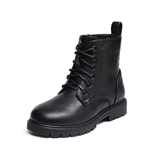 DREAM PAIRS Boys Girls Kbo211 Side Zipper Combat Ankle Boots...