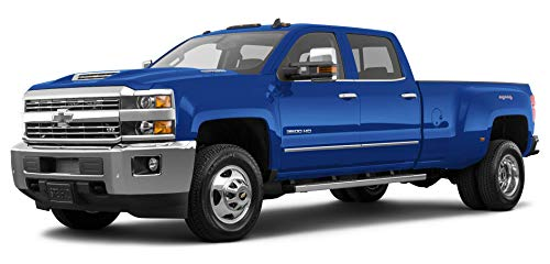 "2017 Chevrolet Silverado 3500 HD Work Truck, 2-Wheel Drive Crew Cab 171.5"" Wheelbase, 59.06"" Cab to Axle, Deep Ocean Blue Metallic"