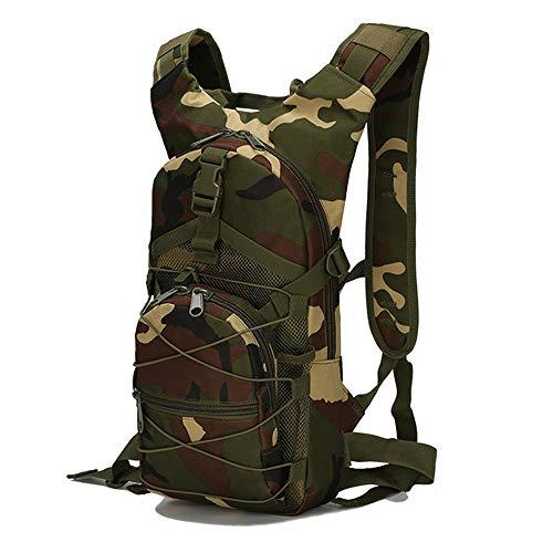 Greenpromise Sac à dos tactique Molle 15 L en tissu Oxford 800D - Sac à dos militaire, de randonnée,de cyclisme, de sports de plein air, d'escalade, de camping, Motif camouflage