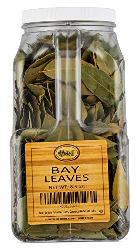 Gel Spice Turkish Bay Leaves,Commercial Kitchen Size - 8.5 OZ
