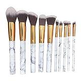 Taottao - Juego de 10 brochas de maquillaje para cejas