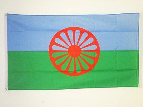 AZ FLAG Flagge Gypsy 150x90cm - Zigeuner Fahne 90 x 150 cm - flaggen Top Qualität