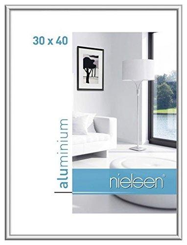 Nielsen Aluminium fotolijst Classic, 30x45 cm, structuur walnoot