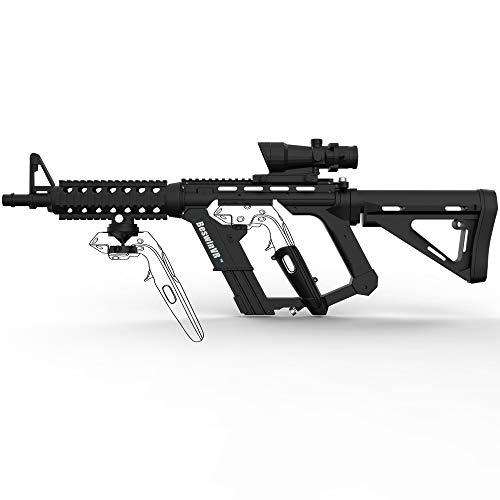 VR Game Gun Controller Stock BeswinVR Adattatore per fucile M4 per doppio controller HTC Vive 1.0 e 2.0 Pro Virtuix Omni KAT Tapis roulant (marchio protetto)