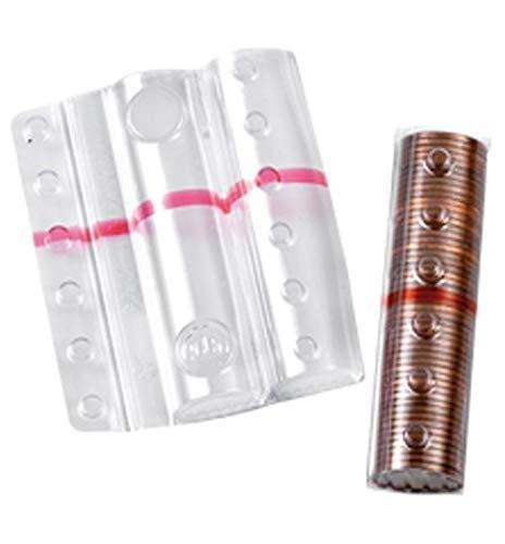 Blister in plastica per monete da 5 cent (100 pezzi) contenitori monete